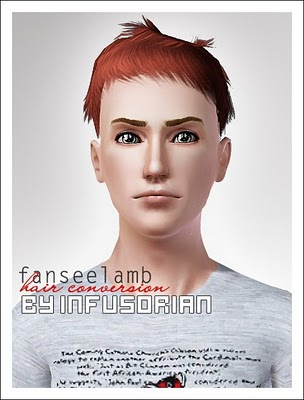 fanseelamb hair conversion от Infusorian