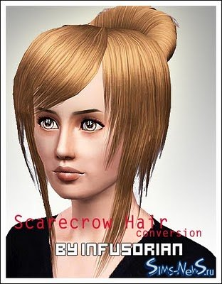 Scarecrow hair 14 conversion �� Infusorian