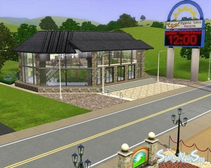 """Sims New City Family Pack. Elit Fitnes Centr"" Элитный фитнес центр"