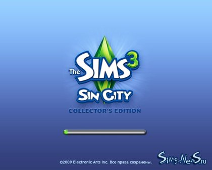 Sims New City Family Pack.® LoadScreen.