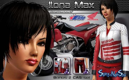 Sims New City Family Pack.® Ilona Max