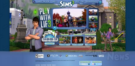 ����������� ���-������ The Sims 3 �� ��������
