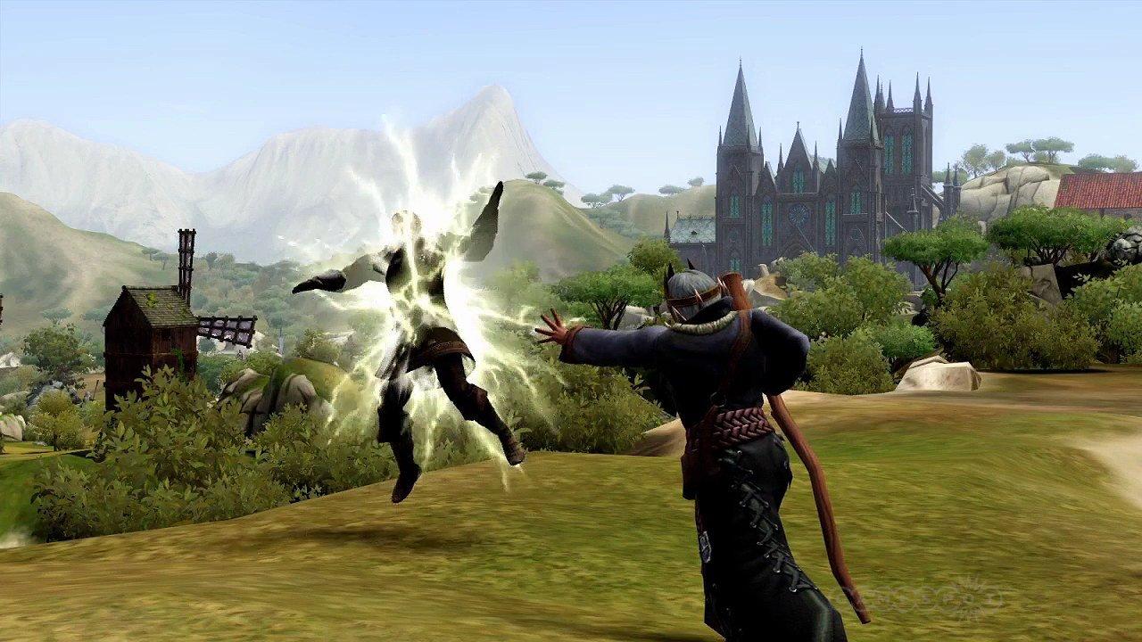 Скриншоты The Sims Medieval.