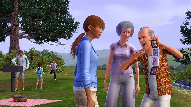 Игру Sims Pet