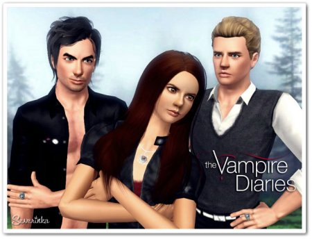 ���� ��� The Sims  3 - ��������� The Vampire Diaries