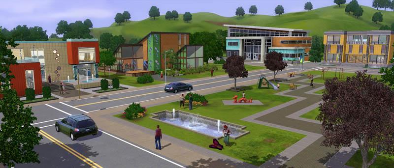 The sims 3 городская жизнь скачать игру