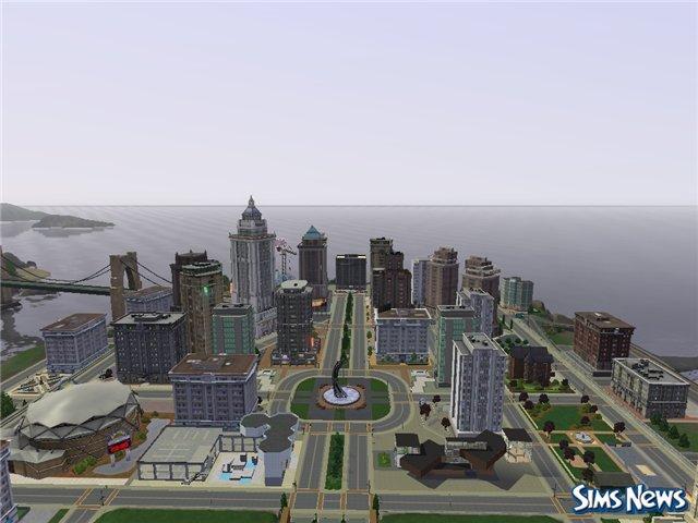 Город для симс 3