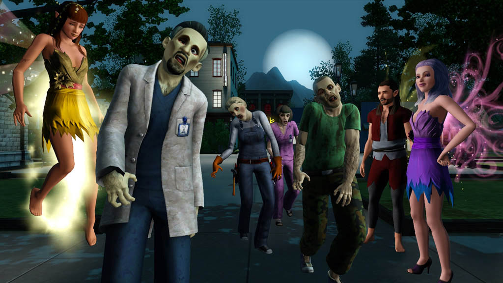 скачать бесплатно игру the sims 3 сверхъестественное через торрент