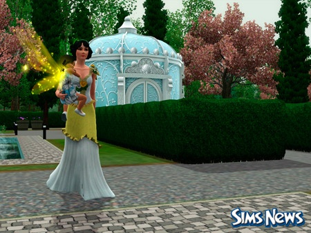 Симс 3 как устроить свадьбу на курорте - f