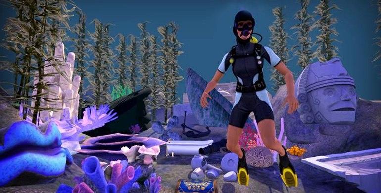 Sims 3 райские острова скриншоты симс 3