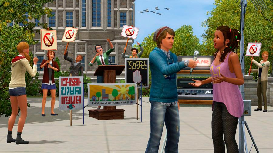 скачать игру Sims 3 студенческая жизнь на компьютер бесплатно через торрент - фото 3