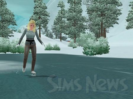 Зима в The Sims 3 Времена года (Подробный обзор)