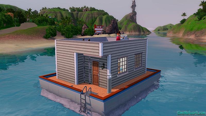 Симс 3 как сделать дом под водой для русалки