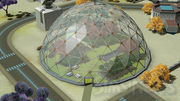 Лунар лейкс новый город в мире the sims 3