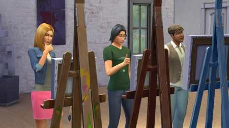 ������ ����� �������� � ������� �������� � The Sims 4