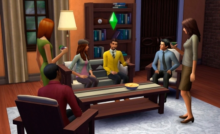 �������� � ��������� ����� � The Sims 4