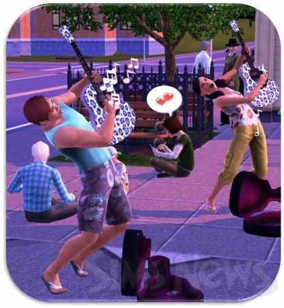 ����� ���� �� ������ � The Sims 3
