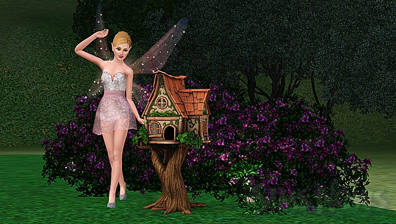 Домик для фей в The Sims 3. Где взять домик феи и зачем он нужен в Симс 3 Сверхъестественное