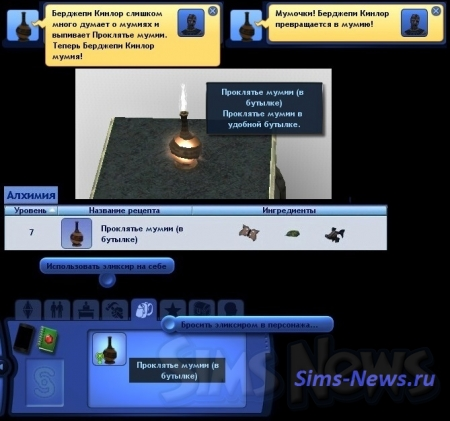 ��� ����� ������ � The Sims 3