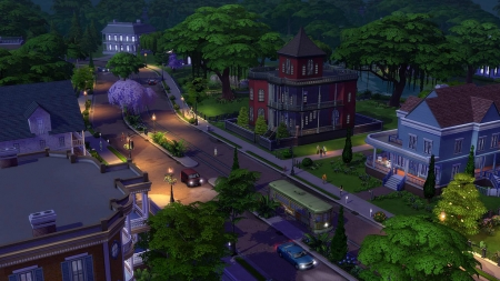 Город Уиллоу Крик в The Sims 4