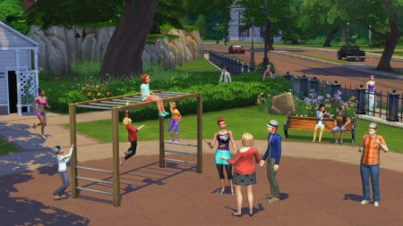 �������� �������� � The Sims 4