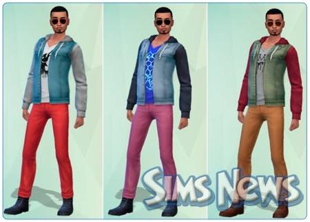 sims 2 одежда готовые симы: