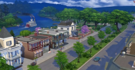 Willow Creek в Sims 4