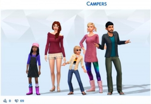 ����� � ������  � The Sims 4 �������