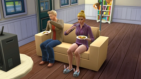 ����� ���� ����������� � ����� � The Sims 4