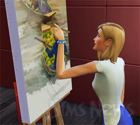 Рисуем картину в симс 3