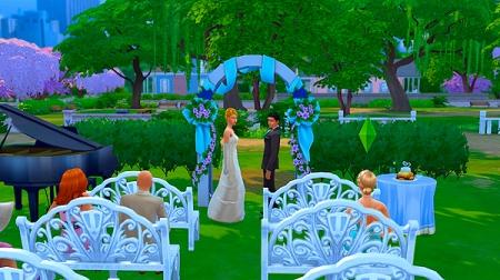 Симс 3 как устроить свадьбу на курорте - 1d8