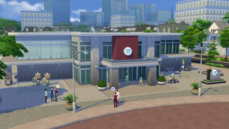 ���  ������� ���� ������ � The Sims 4 Get To Work