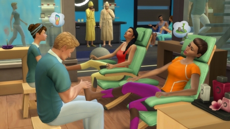 ������� ����� The Sims 4 ���� ���