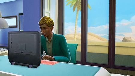 Эмоция «Уверенный» в The Sims 4