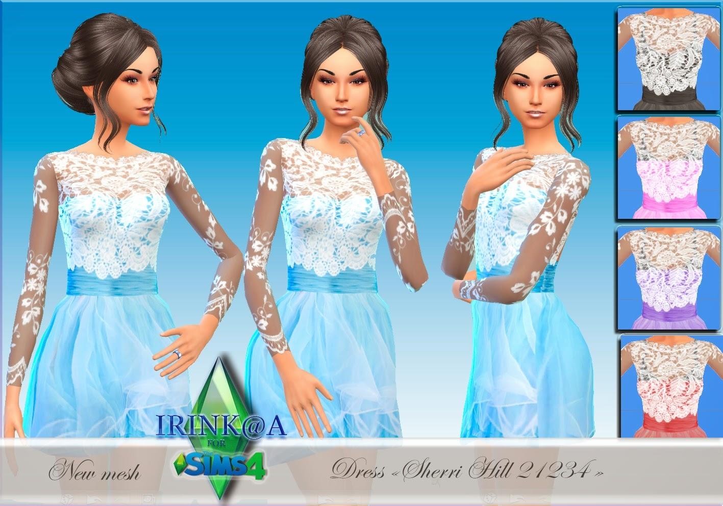 Скачать моды для симс 4 на платья