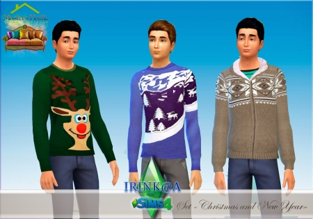 "����� ������ ""Christmas and New Year"" ��� Sims 4"