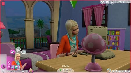 ������ �������� � The Sims 4