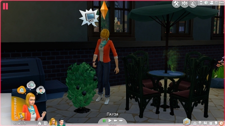 ������ ������������ � The Sims 4