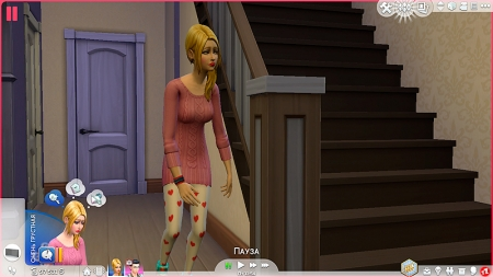 ������ ��������� � The Sims 4