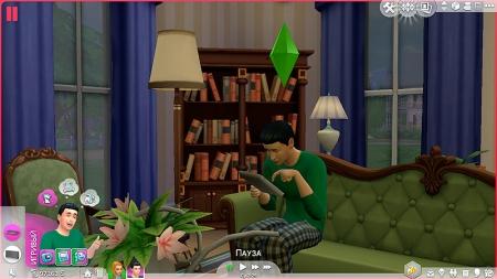 Эмоция «Игривый» в The Sims 4