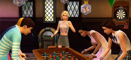 ����� ����� ���������� The Sims 4 ��������� ������