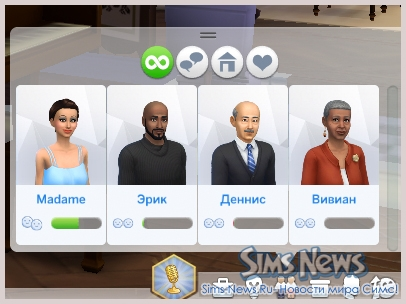 ���� �� ��������� � The Sims 4
