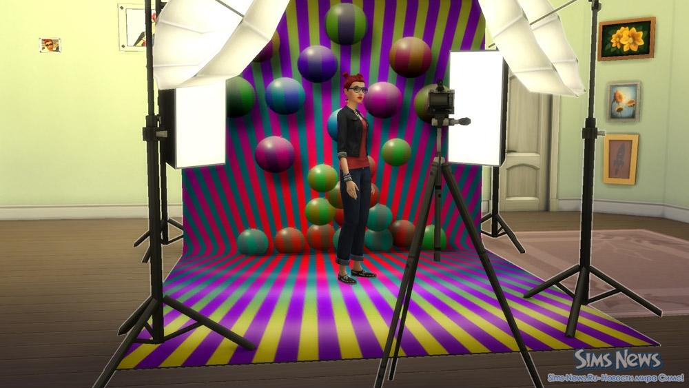Sims 4 фотостудия. Как сделать фотостудию в Симс 4 ...