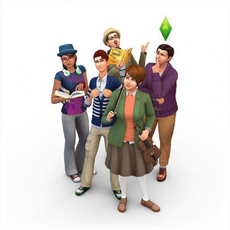 Два новых рендера The Sims 4 Get Together