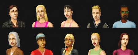 ����� ������� ����� � The Sims 2