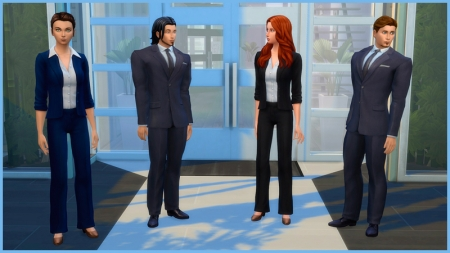 ������� ���������� � The Sims 4