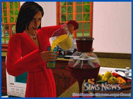 ������� ����� � The Sims 2