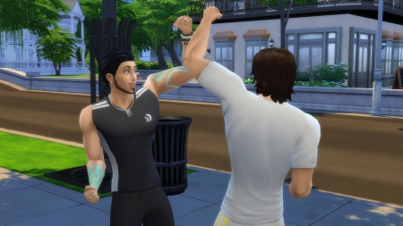 ������� ������� � The Sims 4 ��������� ������