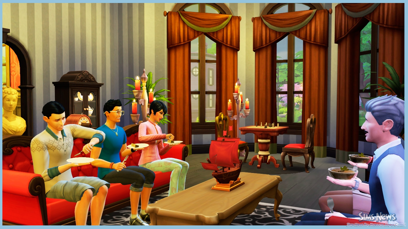 Сезонные праздники в The Sims 3 Времена года 26