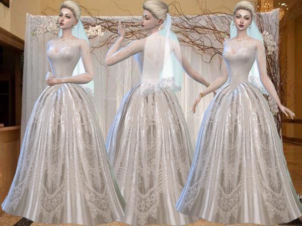 Симс 3 платья принцессы